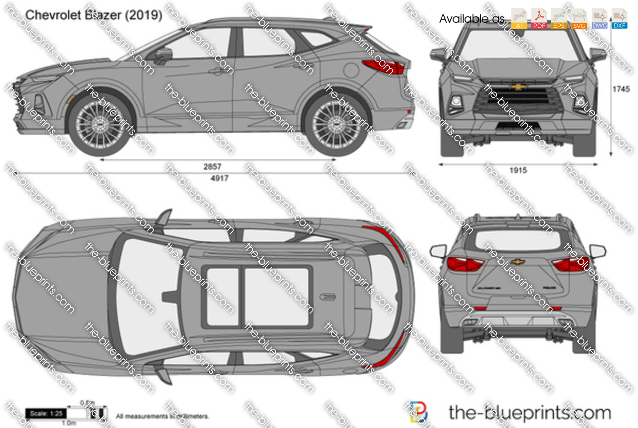 Stelvio Alfa Romeo Price >> Chevrolet Blazer vector drawing