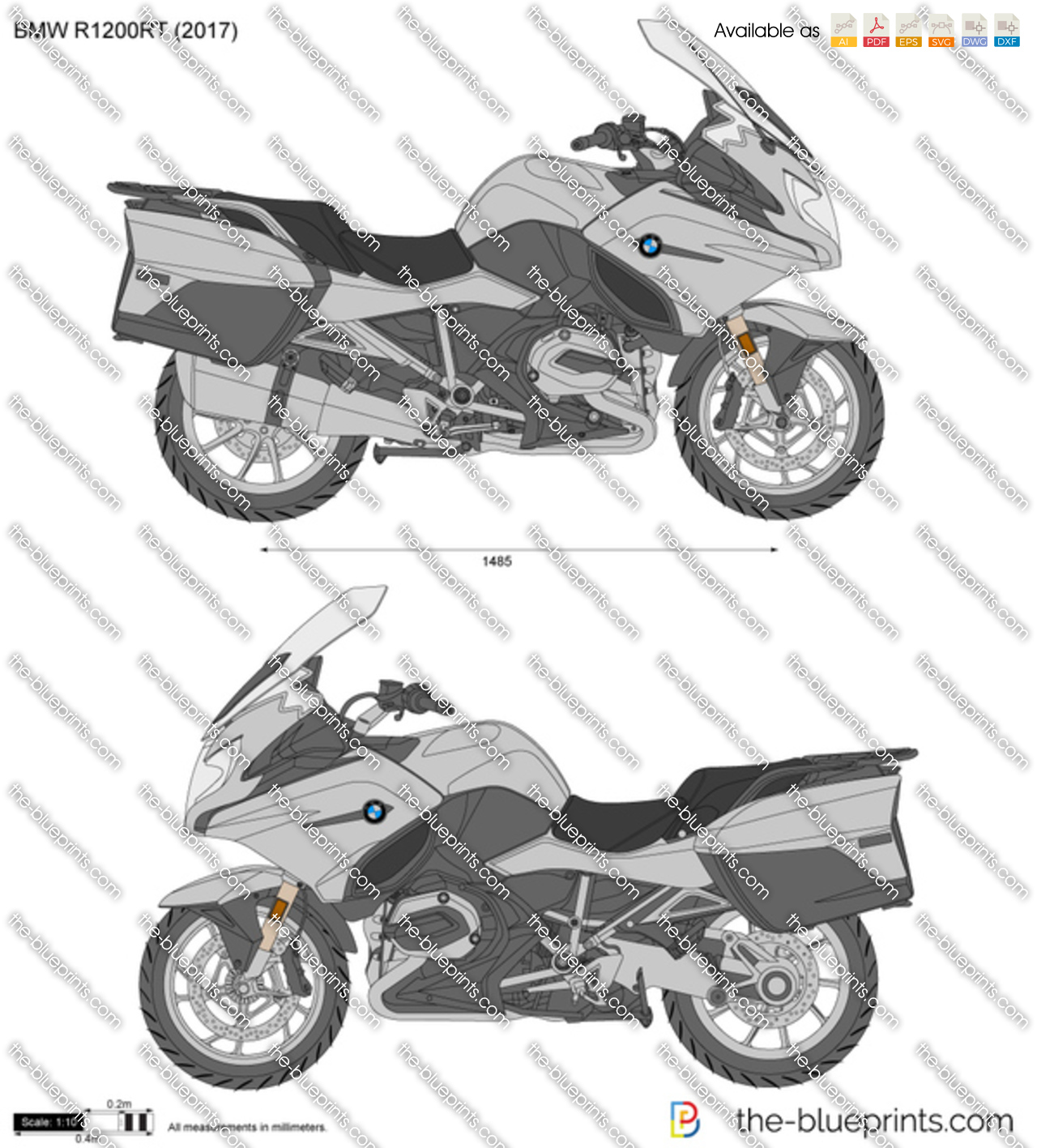 bmw r1200rt vector drawing. Black Bedroom Furniture Sets. Home Design Ideas
