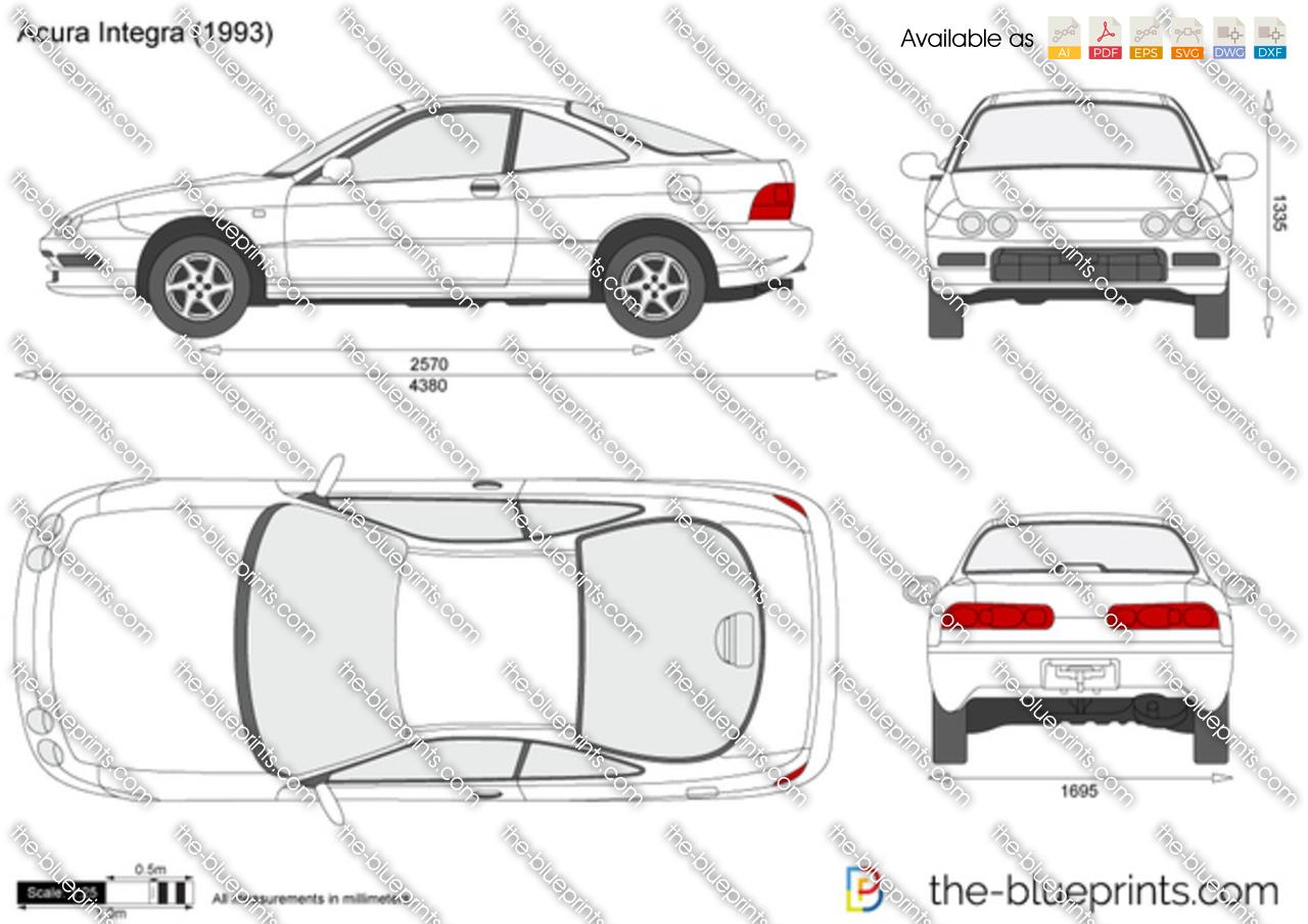 Acura Integra 1996