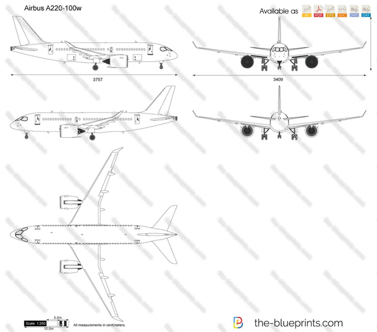 Airbus A220-100w