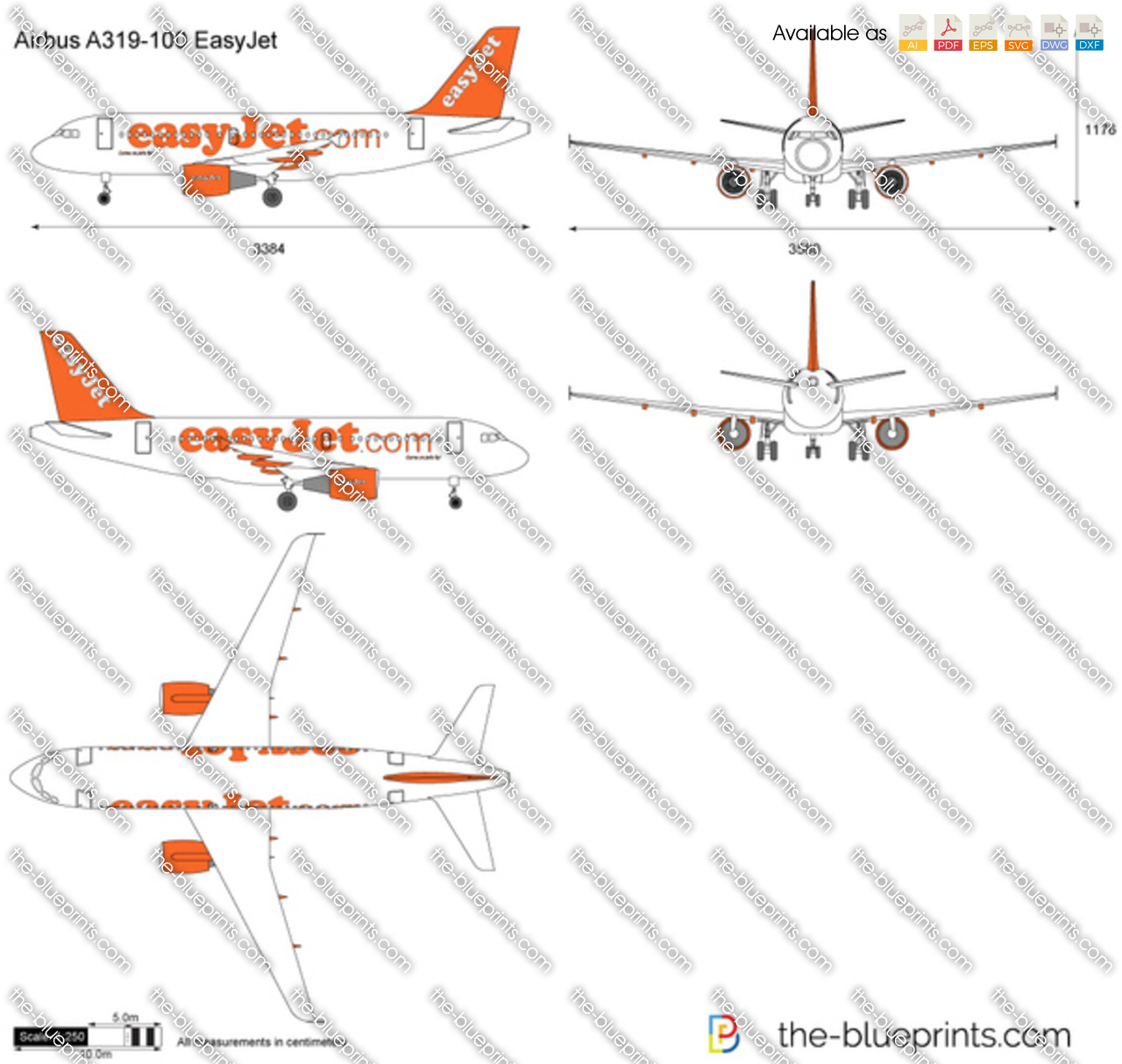 Airbus A319-100 EasyJet
