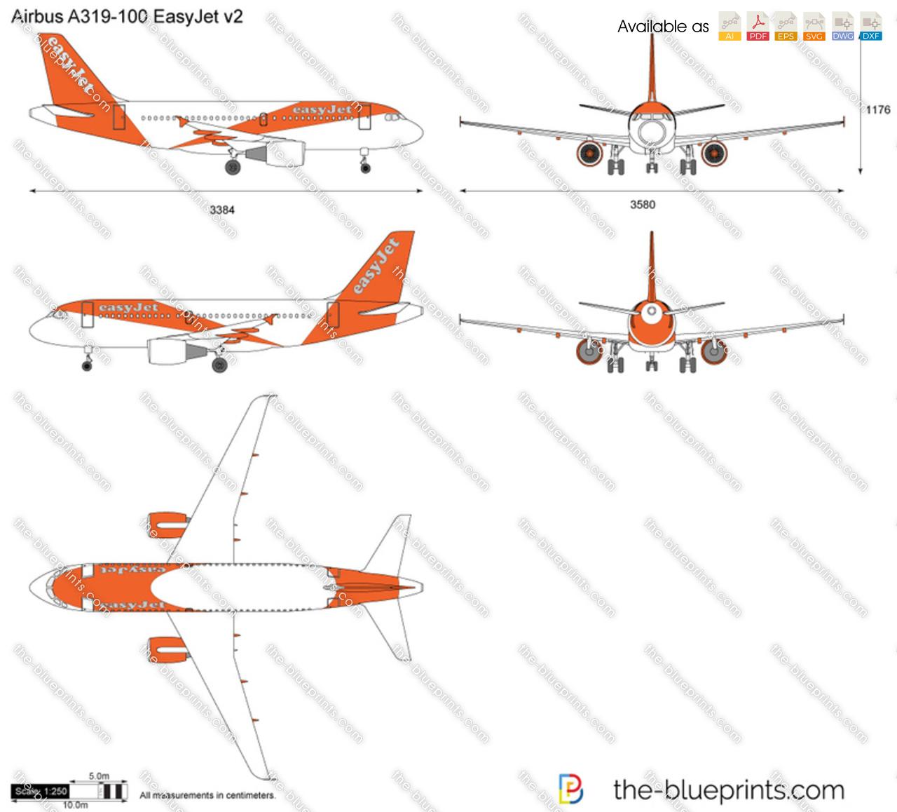 Airbus A319-100 EasyJet v2