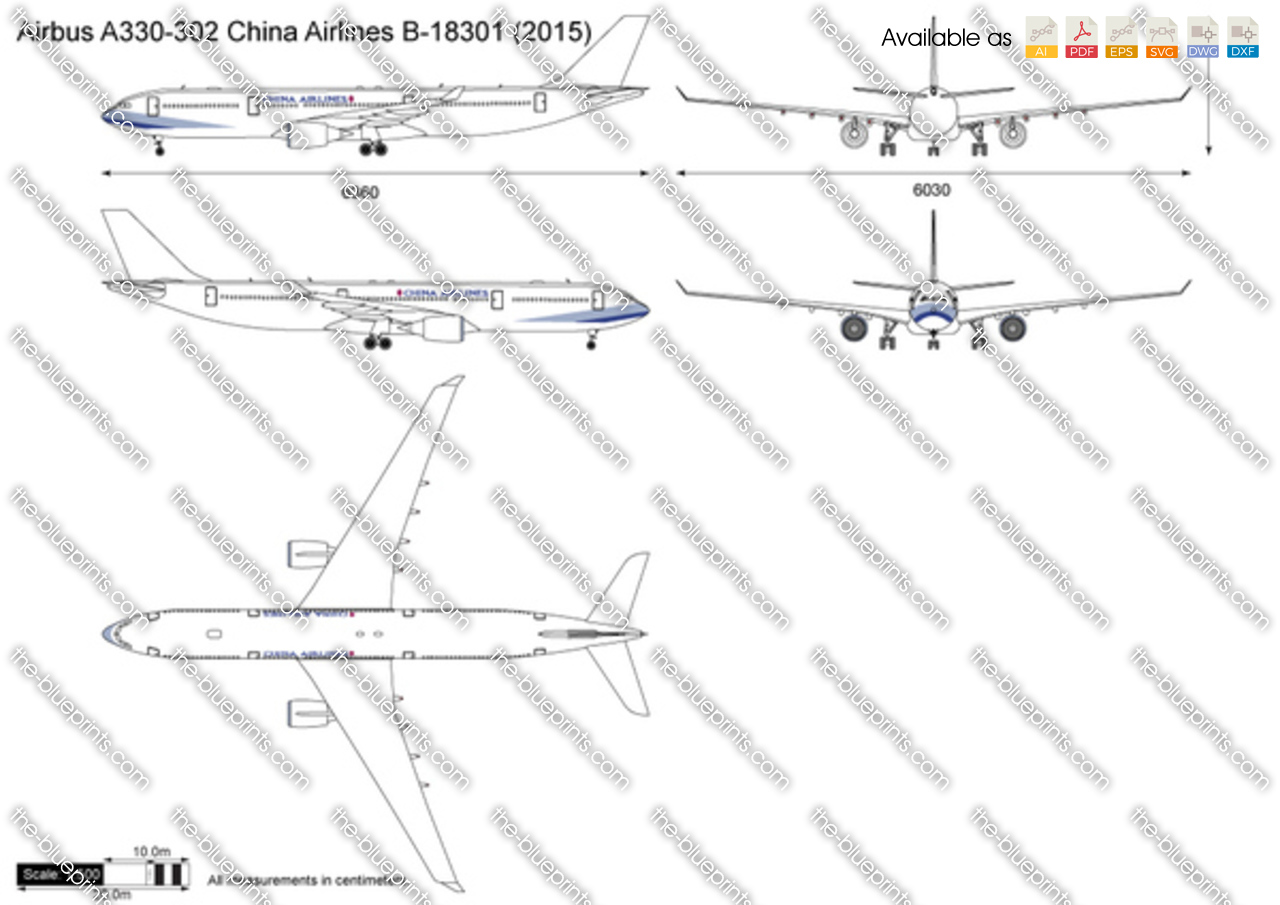 Airbus A330-302 China Airlines B-18301