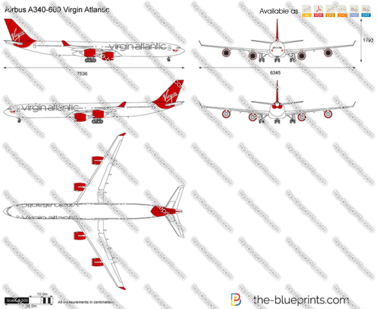 Airbus A340-600 Virgin Atlantic