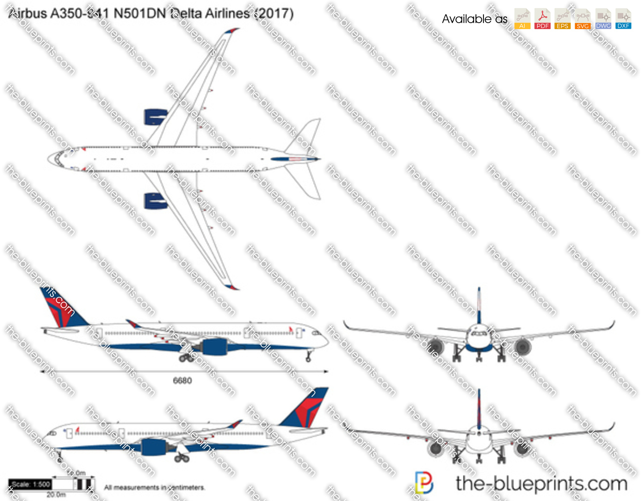 Airbus A350-941 N501DN Delta Airlines