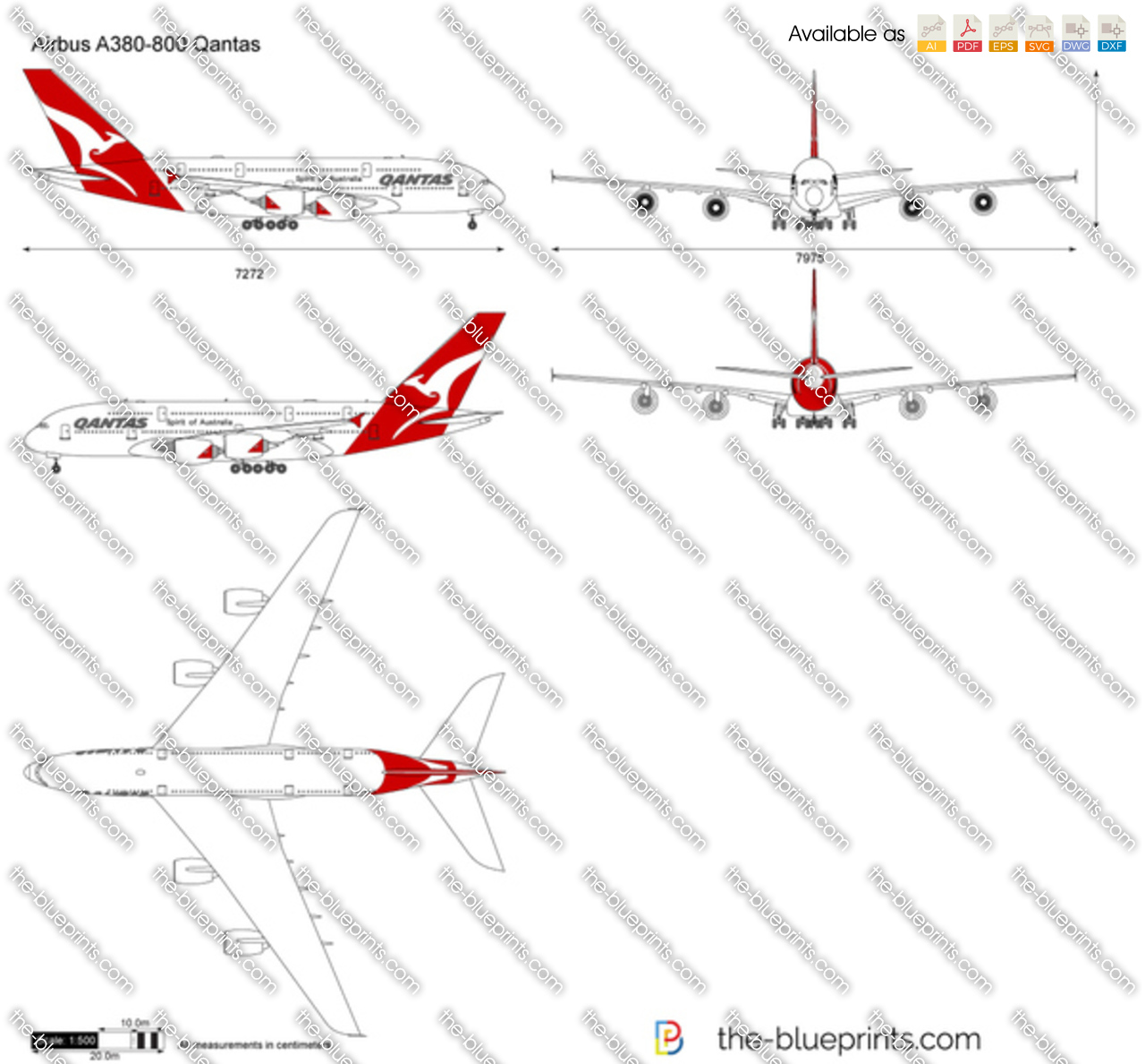 Airbus A380-800 Qantas