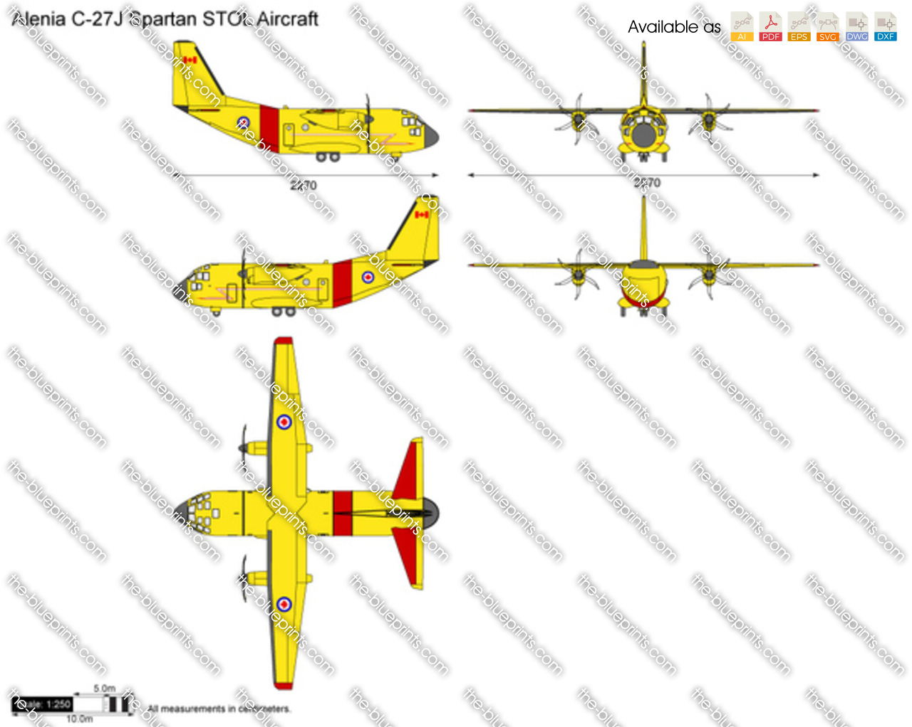 Alenia C-27J Spartan STOL Aircraft