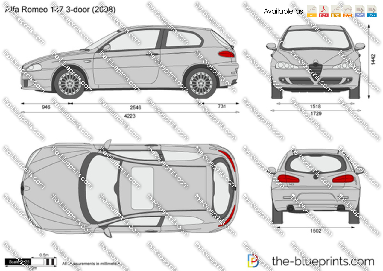 Alfa Romeo 147 3-door 2004