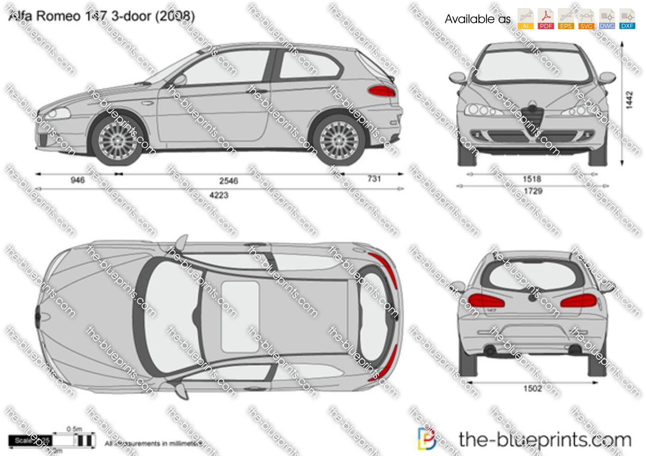 Alfa Romeo 147 3-door 2009