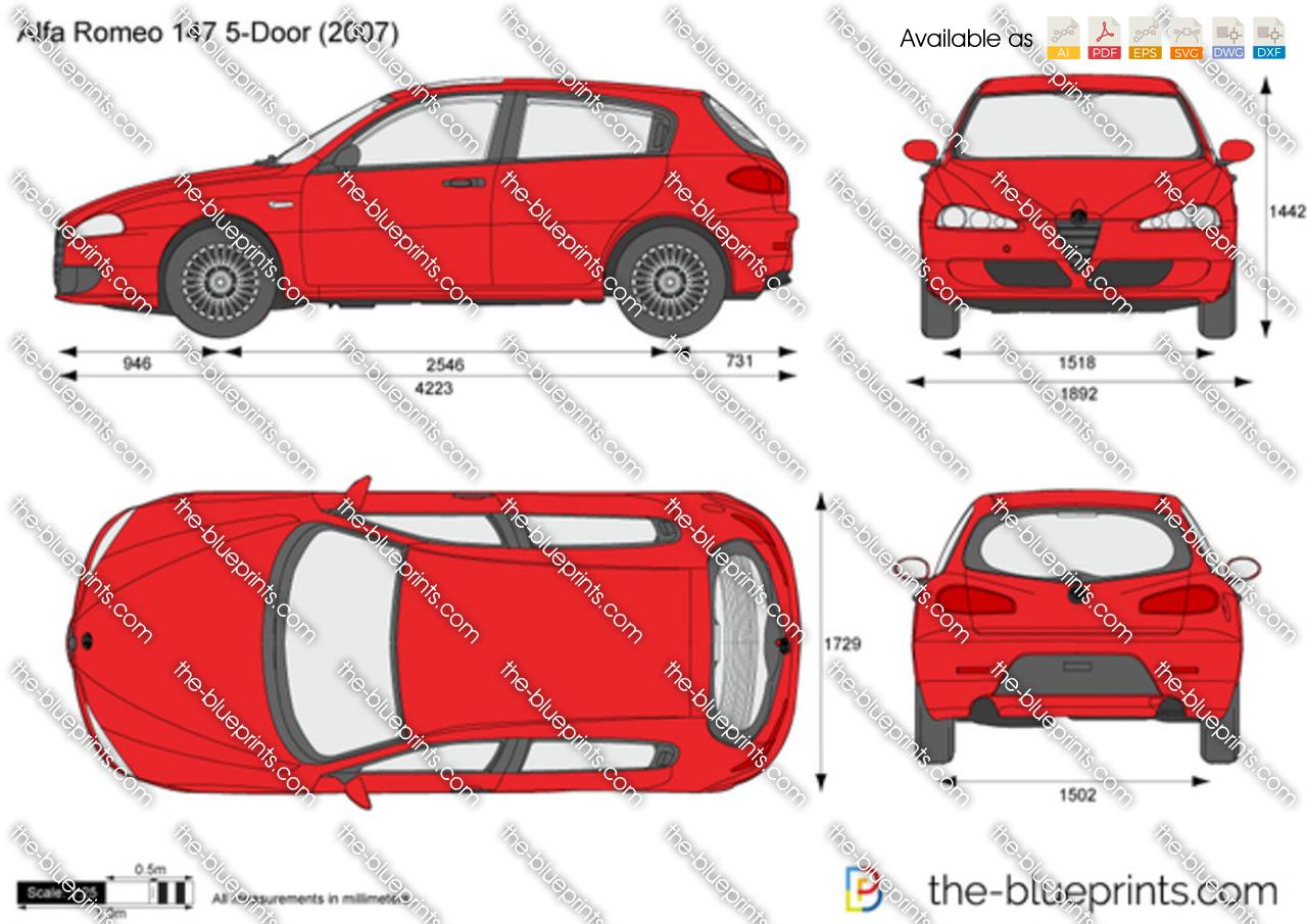 Alfa Romeo 147 5-Door 2008