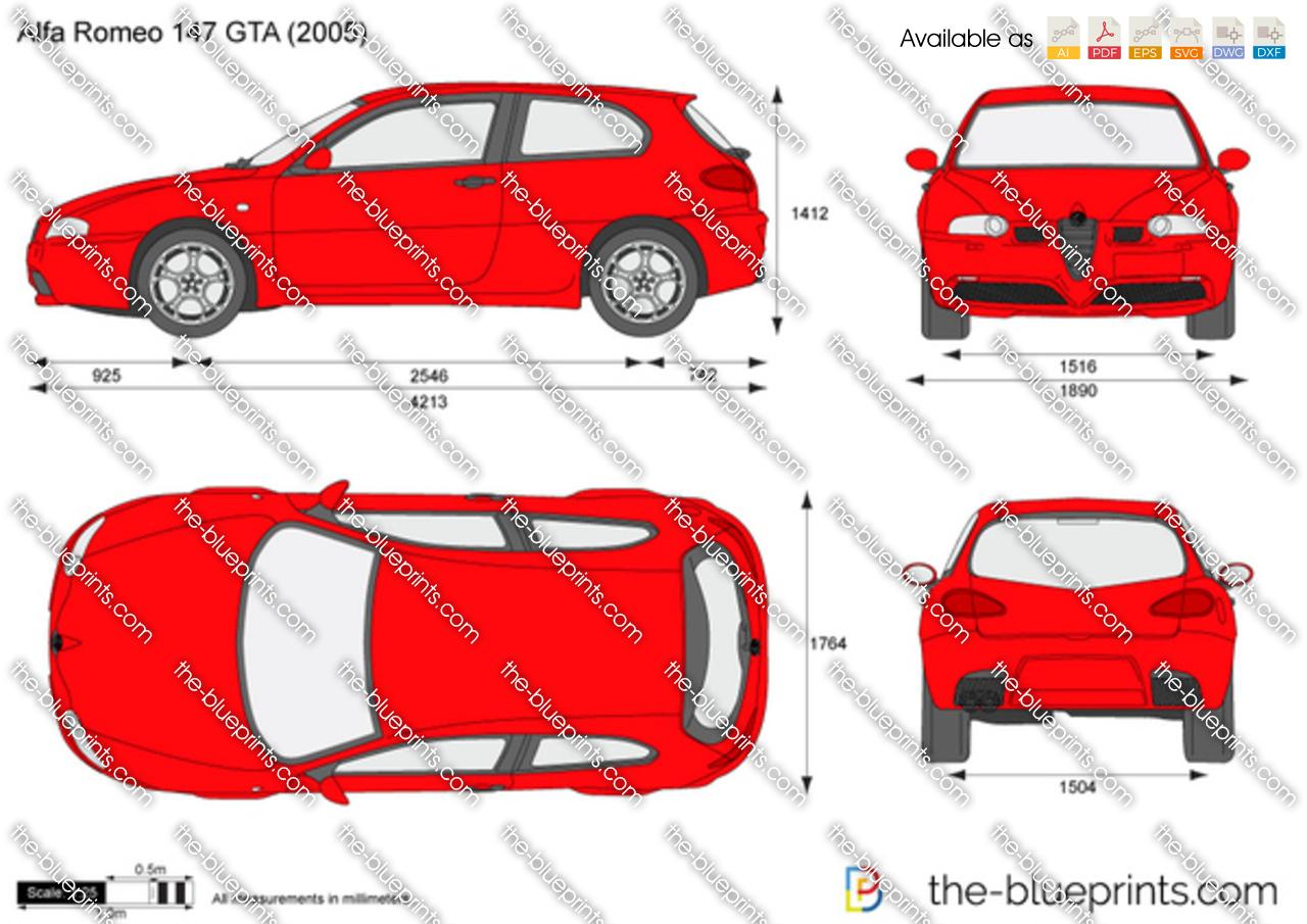 Alfa Romeo 147 GTA 2004
