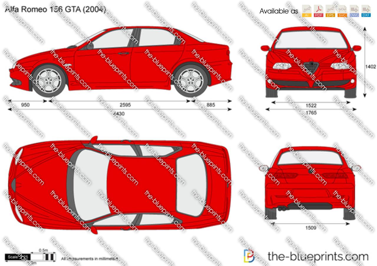Alfa Romeo 156 GTA 2003