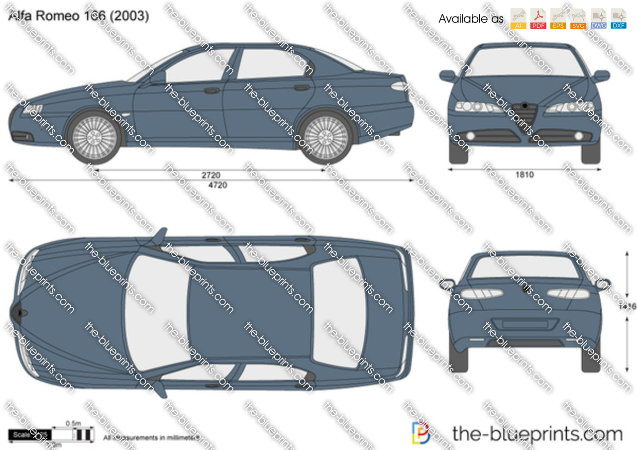 Alfa Romeo 166 2003