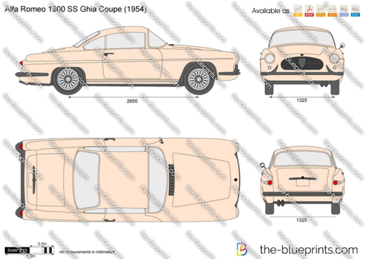 Alfa Romeo 1900 SS Ghia Coupe