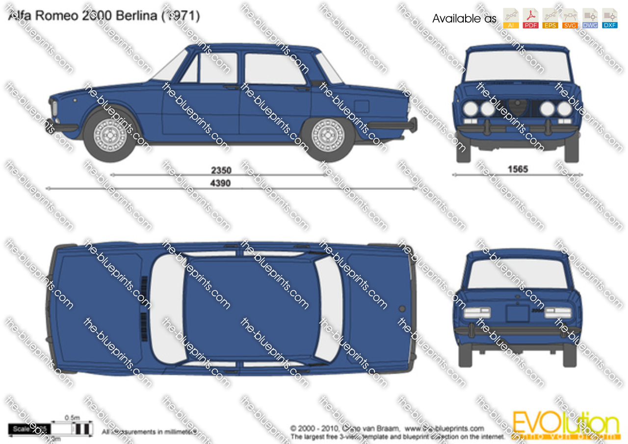 Alfa Romeo 2000 Berlina 1970