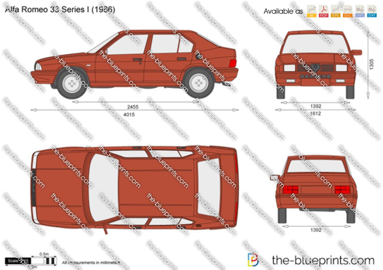 Alfa Romeo 33 Series I 1987
