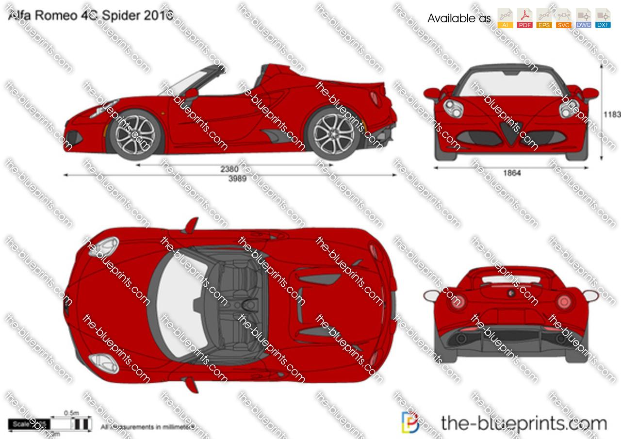 Alfa Romeo 4C Spider 2019