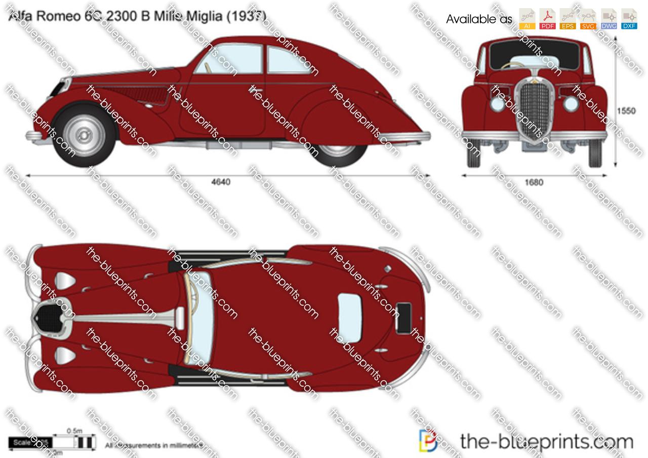 Alfa Romeo 6C 2300 B Mille Miglia