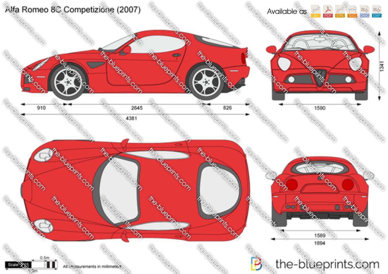 Alfa Romeo 8C Competizione 2009