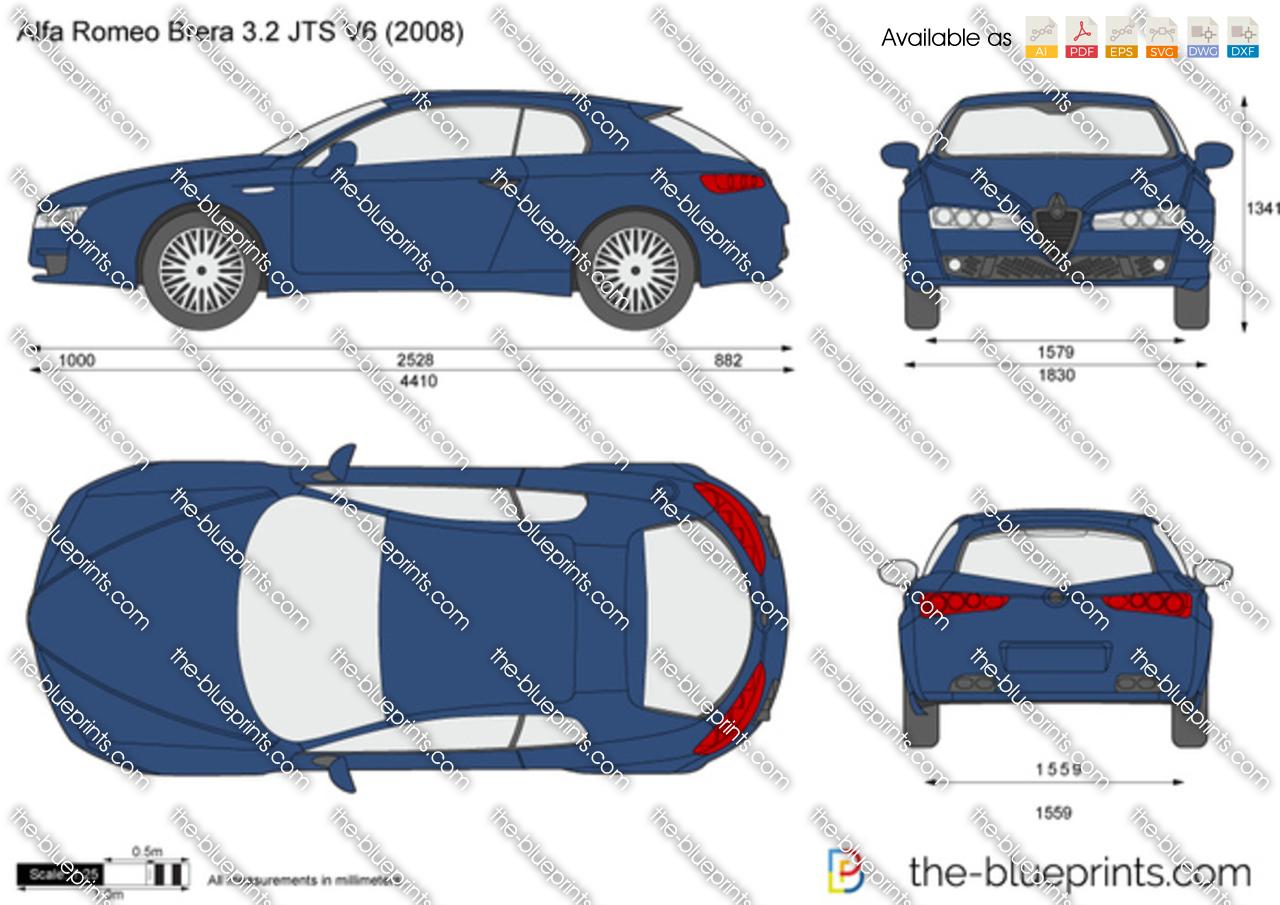 Alfa Romeo Brera 3.2 JTS V6 2005