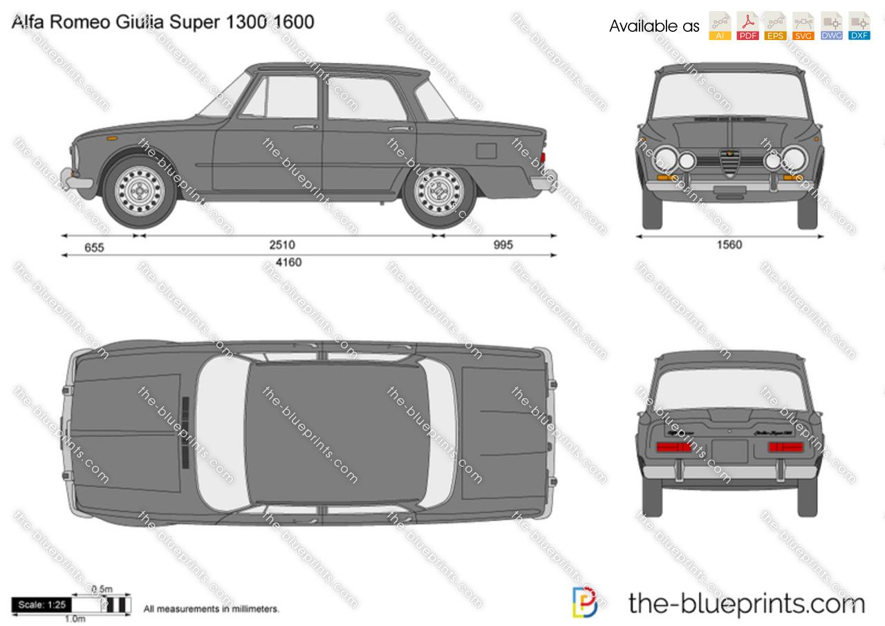 Alfa Romeo Giulia Super 1300 1600