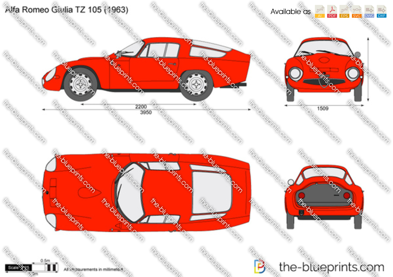 Alfa Romeo Giulia TZ 105