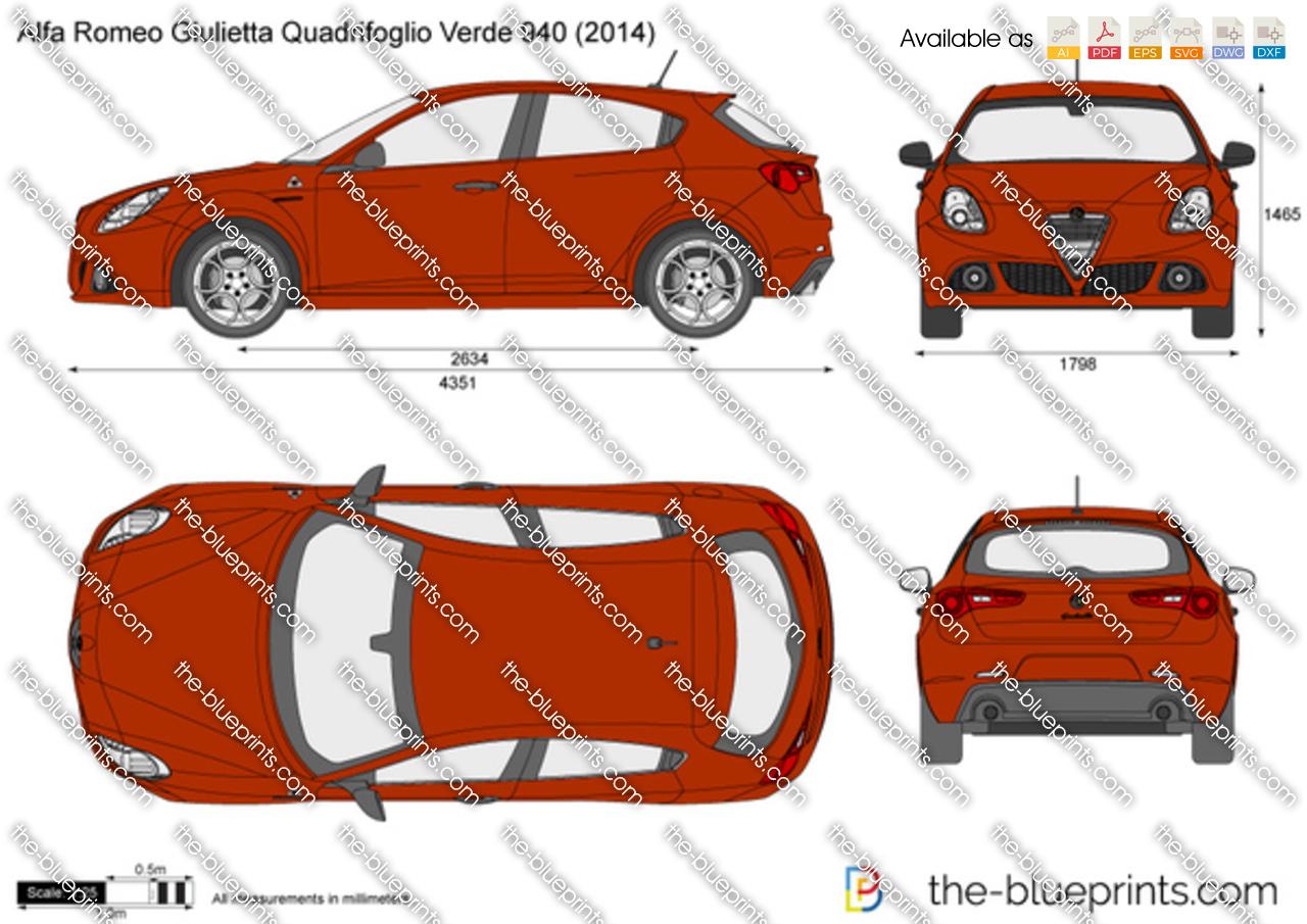 Alfa Romeo Giulietta Quadrifoglio Verde 940
