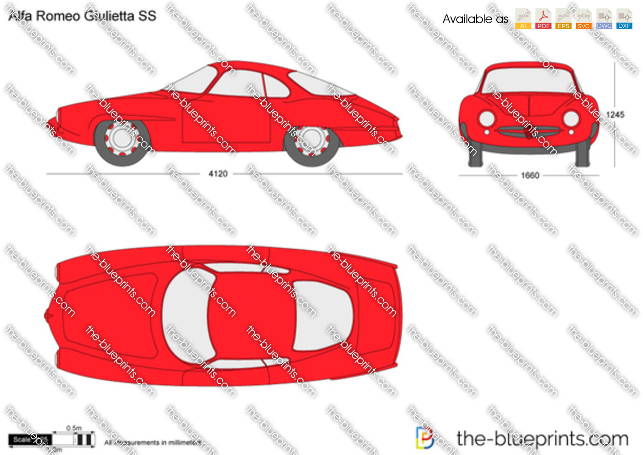 Alfa Romeo Giulietta SS 1960