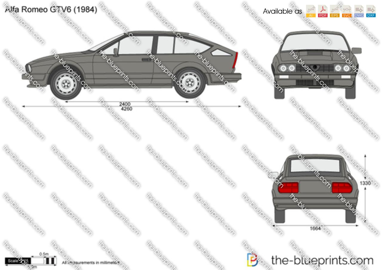 Alfa Romeo GTV6 1981