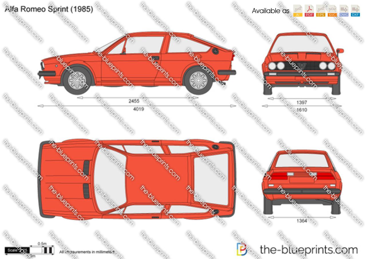 Alfa Romeo Sprint 1986