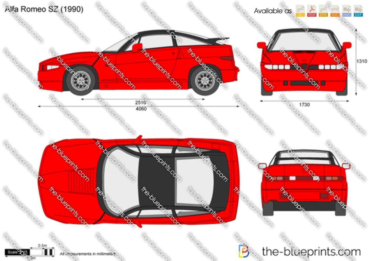 Alfa Romeo SZ (ES30) 1990