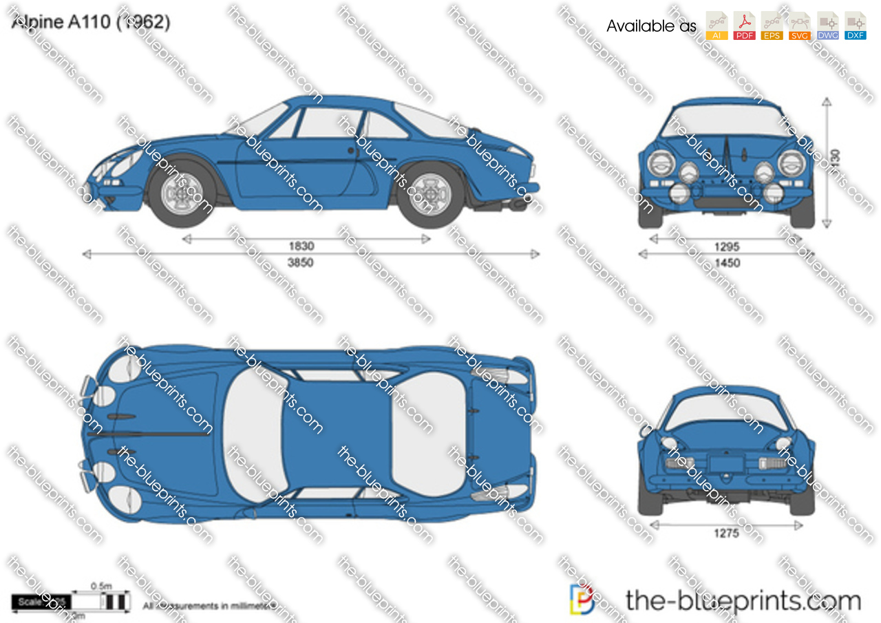 Alpine A110 1963