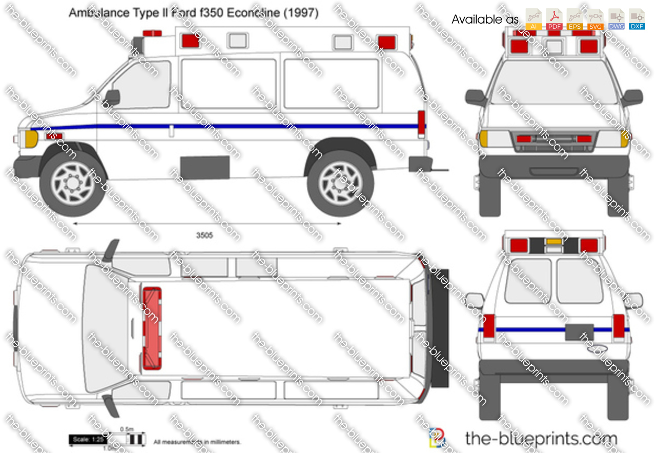 Ambulance Type ll Ford f350 Econoline