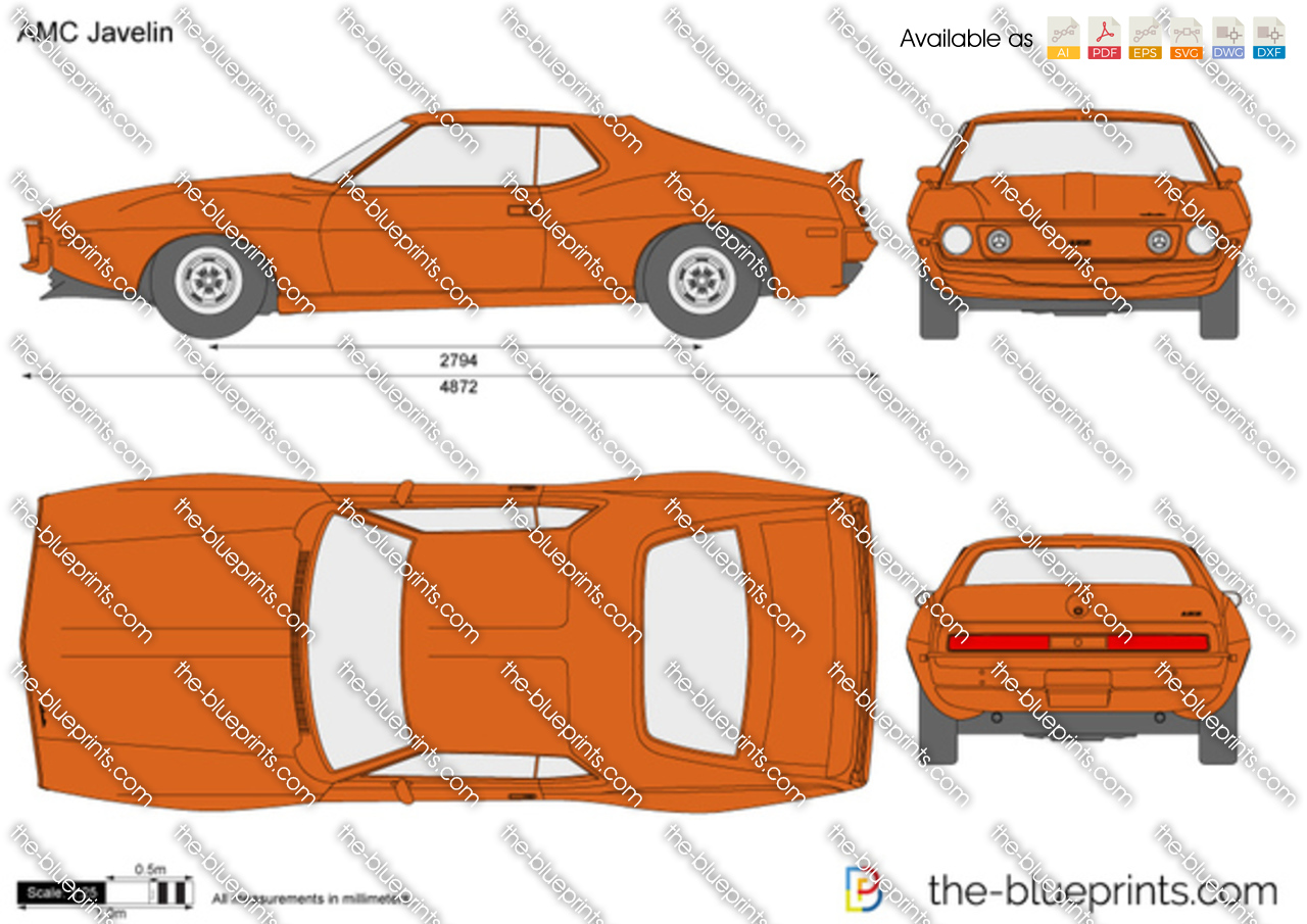 The Blueprints Com Vector Drawing Amc Javelin