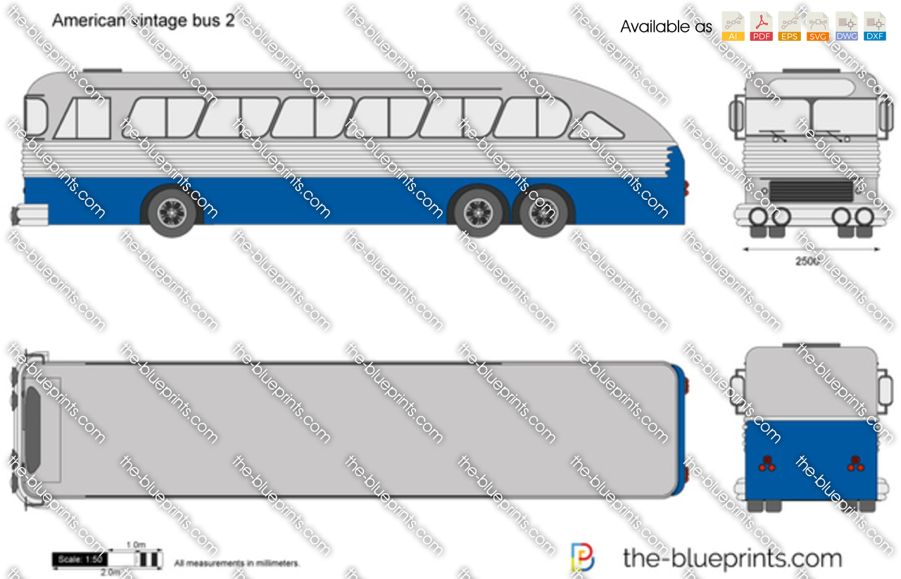 American vintage bus 2