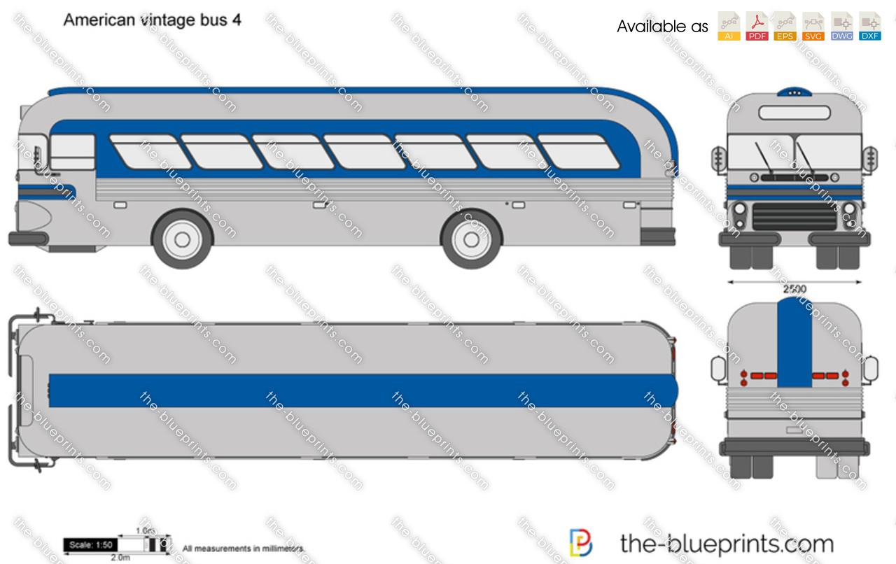 American vintage bus 4
