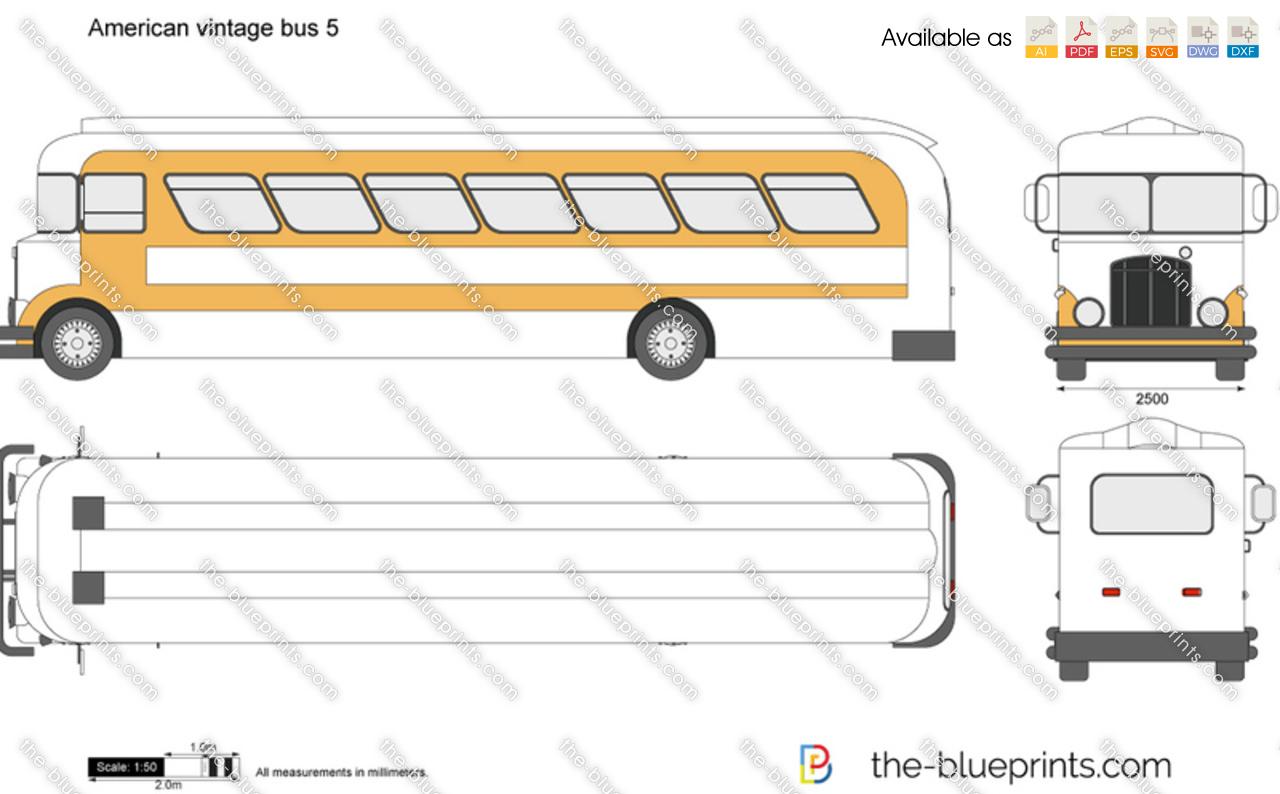 American vintage bus 5