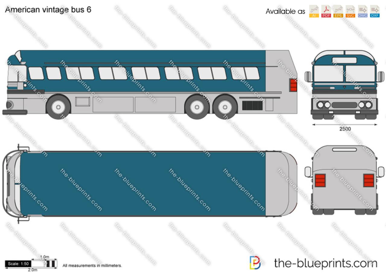 American vintage bus 6