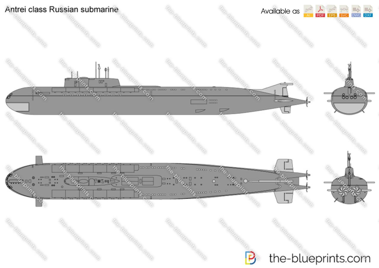 Antrei class Russian submarine