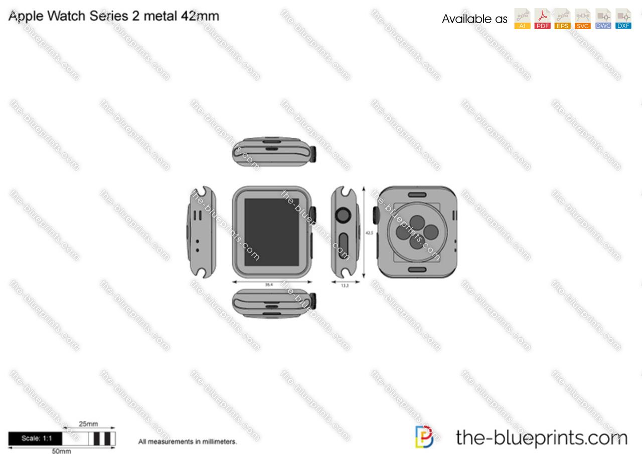 Apple Watch Series 2 metal 42mm