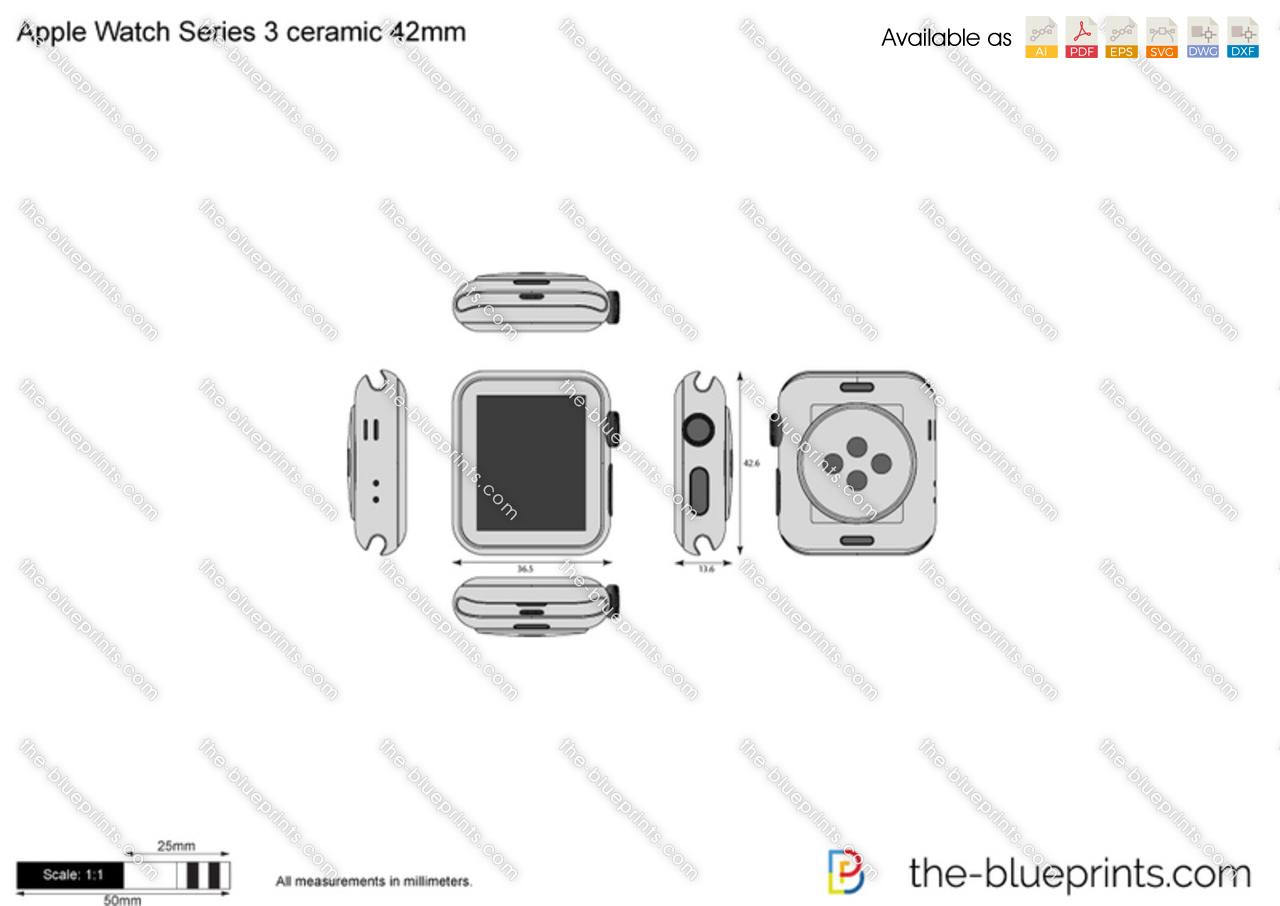 Apple Watch Series 3 ceramic 42mm