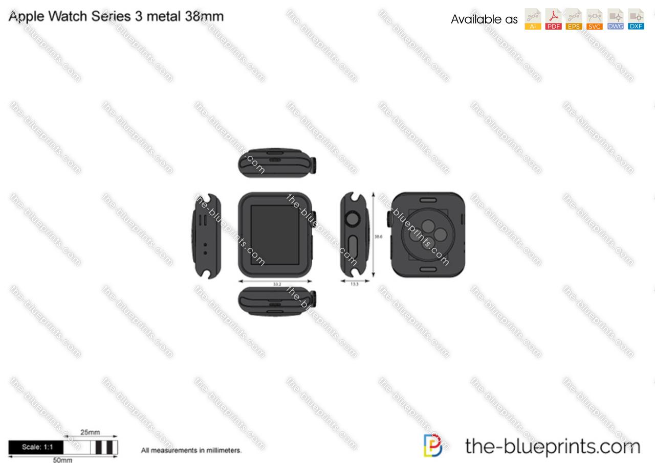 Apple Watch Series 3 metal 38mm