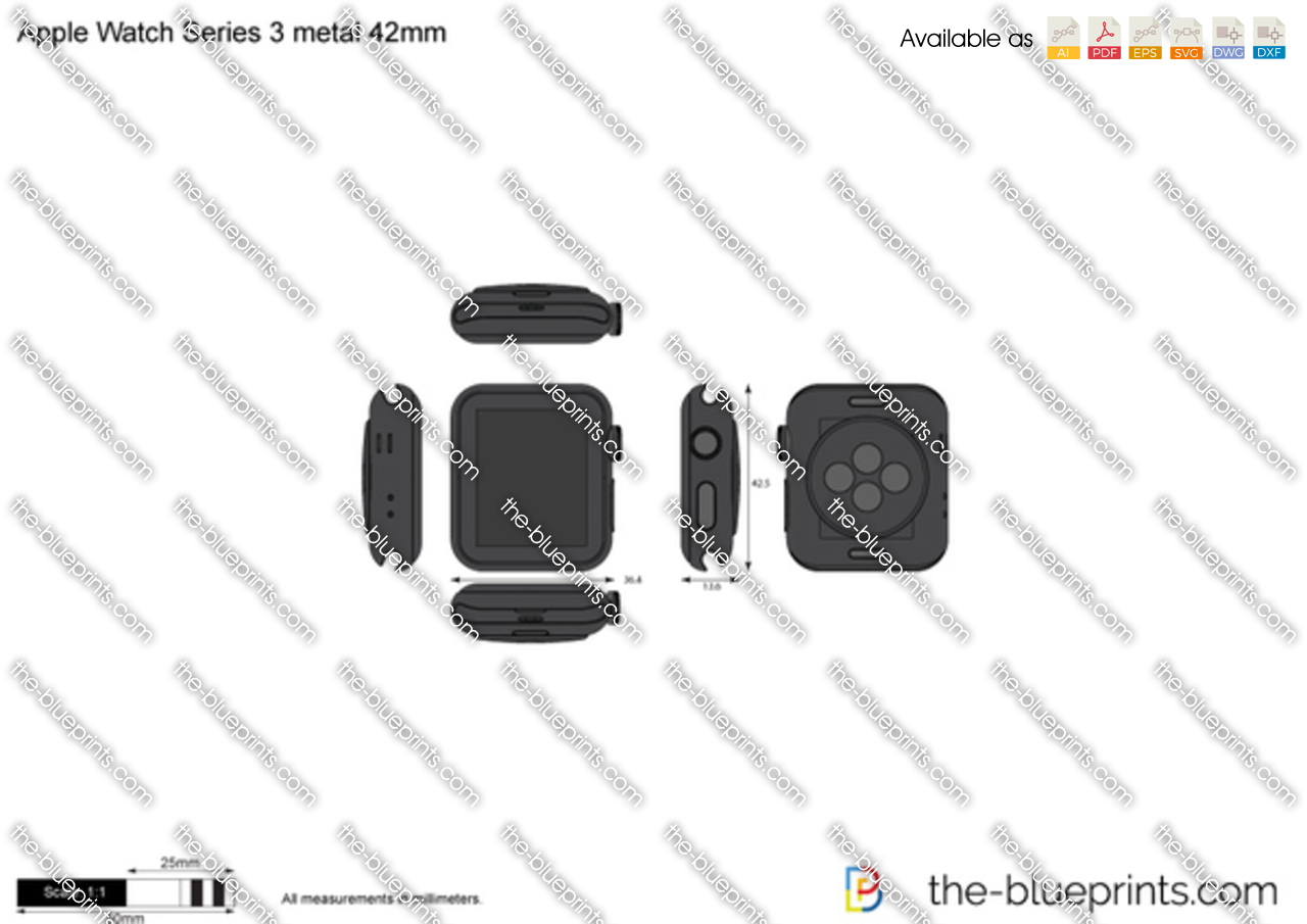 Apple Watch Series 3 metal 42mm