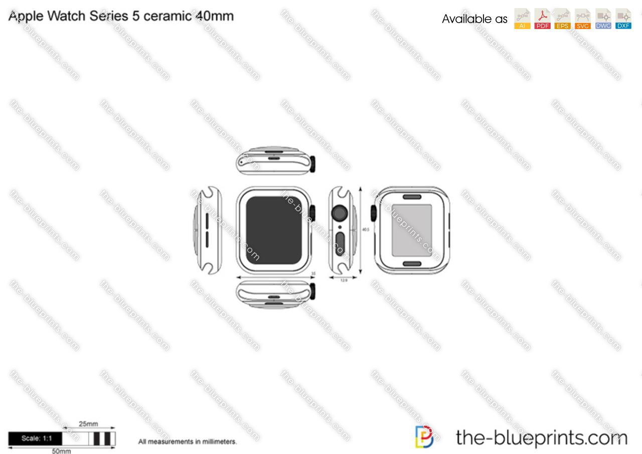 Apple Watch Series 5 ceramic 40mm
