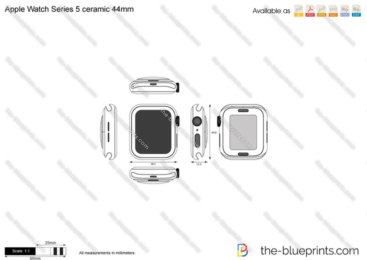 Apple Watch Series 5 ceramic 44mm