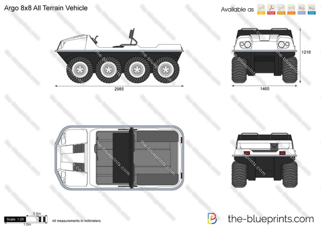 Argo 8x8 All Terrain Vehicle