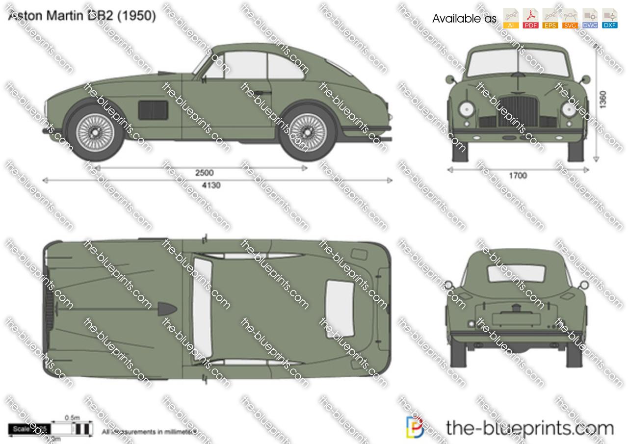 Aston Martin DB2 1952