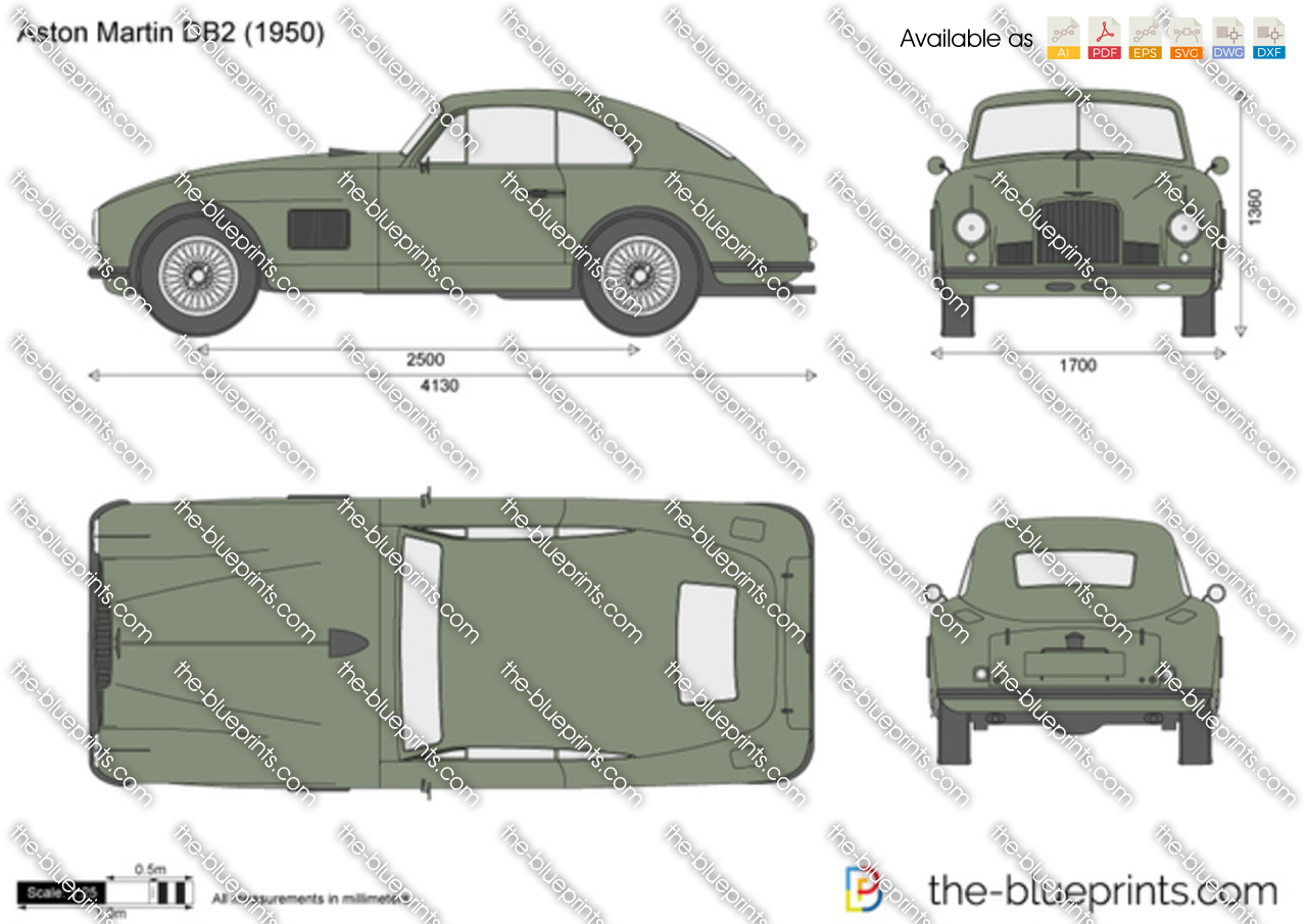 Aston Martin DB2 1953