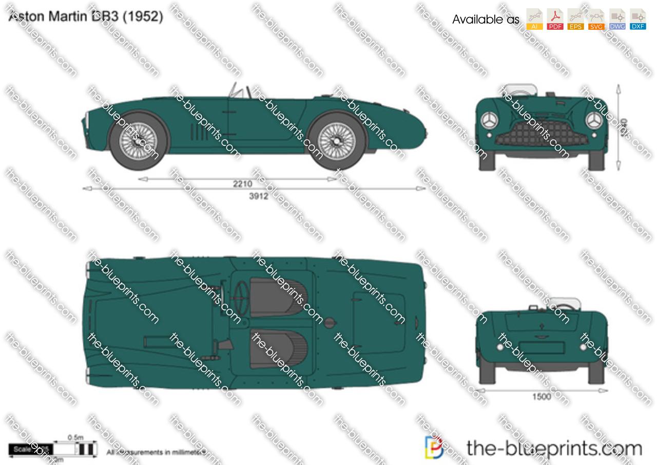 Aston Martin DB3 1950