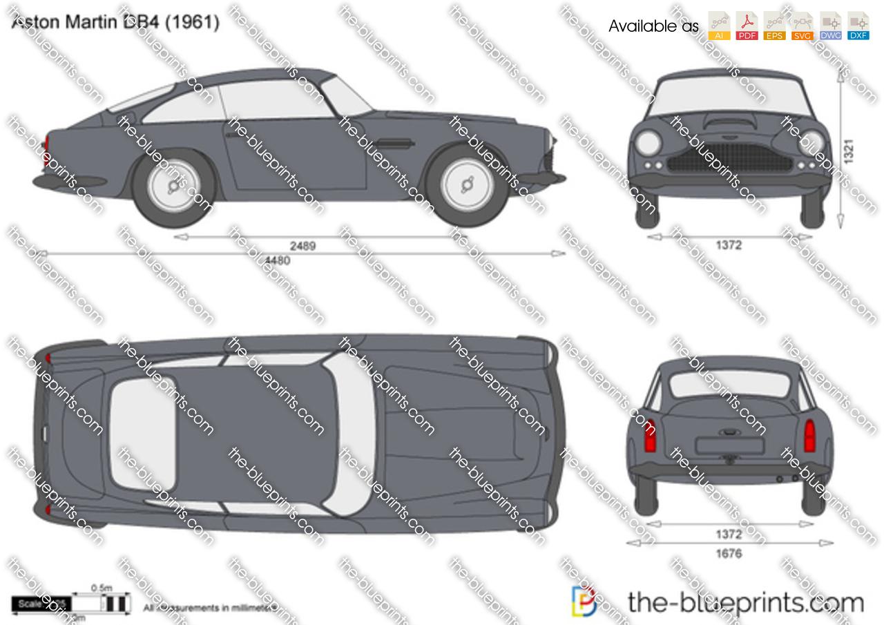 Aston Martin DB4 1959